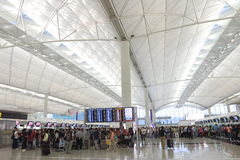 Hong Kong Int ' l aeropuerto Fotografía de archivo