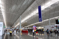 Hong Kong Intl Airport Royalty Free Stock Photography