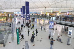 Hong Kong Int'l Airport Royalty Free Stock Photo