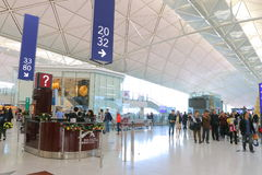 Hong Kong Int'l Airport Royalty Free Stock Image