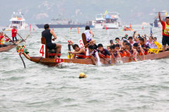 Hong Kong Int'l Dragon Boat Championship 2009 Royalty Free Stock Images