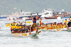 Hong Kong Int'l Dragon Boat Championship 2012 Stock Images