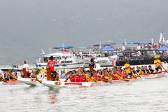 Hong Kong Int'l Dragon Boat Championship 2012 Royalty Free Stock Photography