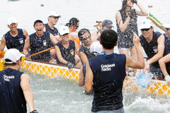Hong Kong Int'l Dragon Boat Championship 2012 Royalty Free Stock Photo