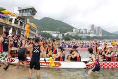 Hong Kong Int'l Dragon Boat Championship 2012 Stock Photo
