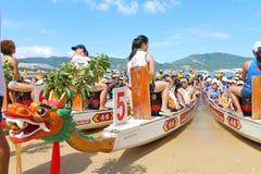 Hong Kong Int ' l Dragon Boat Championships 2015 Fotos de Stock Royalty Free