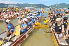 Hong Kong Int'l Dragon Boat Championships 2015 Royalty Free Stock Photos