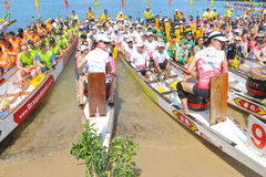 Hong Kong Int'l Dragon Boat Championships 2015 Stock Photo