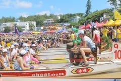 Hong Kong Int'l Dragon Boat Championships 2015 Stock Image