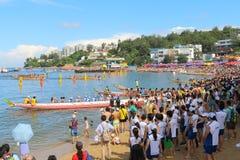 Hong Kong Int'l Dragon Boat Championships 2015 Royalty Free Stock Photo