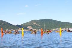 Hong Kong Int'l Dragon Boat Championships 2015 Stock Photography