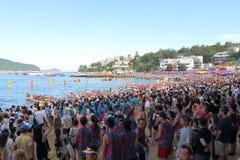 Hong Kong Int'l Dragon Boat Championships 2015 Stock Images
