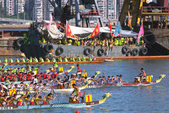 Hong Kong Int'l Dragon Boat Races 2010 Stock Photography
