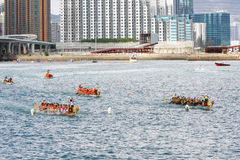 Hong Kong Int'l Dragon Boat Races 2012 Stock Photography