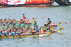 Hong Kong Int'l Dragon Boat Races 2015 Stock Images