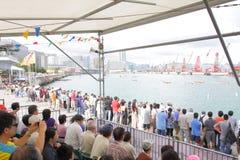 Hong Kong Int'l Dragon Boat Races 2013 Stock Photography