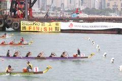 Hong Kong Int'l Dragon Boat Races 2013 Stock Images