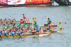 Hong Kong Int'l Dragon Boat Races 2015 Stock Images