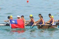 Hong Kong Int'l Dragon Boat Races 2015 Royalty Free Stock Photo