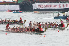 Hong Kong Int'l Dragon Boat Races 2016 Stock Photography