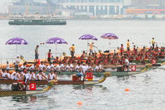 Hong Kong Int'l Dragon Boat Races 2016 Stock Image