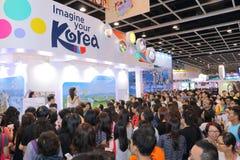 Hong Kong Int ' l expo 2015 del viaje Imagen de archivo