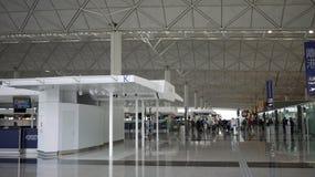 Hong Kong international airport. Lobby at the Hong Kong international airport royalty free stock photography