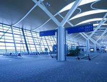 Hong Kong International Airport. Terminal stock photography