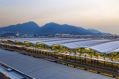 Hong Kong International Airport royalty-vrije stock afbeeldingen