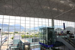 Hong Kong International Airport imagen de archivo libre de regalías