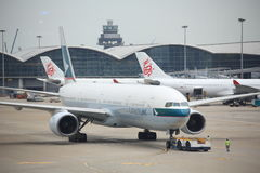 Hong Kong International Airport Stock Foto