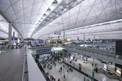 Hong Kong International Airport Stockfotos