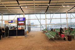 Hong Kong International Airport Stockbilder