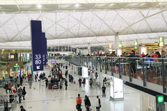 Hong Kong International Airport Images stock