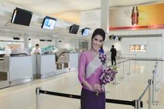 Hong Kong International Airport Stock Afbeeldingen