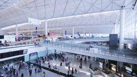 Hong Kong International Airport stock video footage