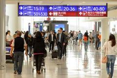 Hong Kong International Airport-binnenland Stock Afbeeldingen