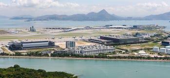 Hong Kong International Airport - Chek Lap Kok Arkivbild