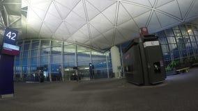 Hong Kong International Airport (Chek Lap Kok Airport) stock video