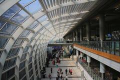 Hong Kong International Airport. China Royalty Free Stock Image