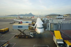 Hong Kong International Airport Stock Photo