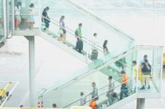 Hong Kong International Airport Chek Lap Kok Airport royalty free stock photo