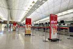 Hong Kong International Airport inre Royaltyfria Foton
