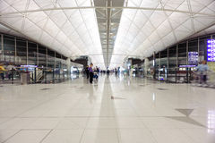 Hong Kong International Airport interior Stock Images
