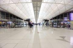 Hong Kong International Airport interior Stock Images