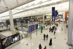 Hong Kong International Airport interior Royalty Free Stock Image