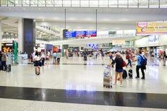 Hong Kong International Airport interior Stock Photos