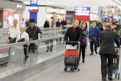 Hong Kong International Airport interior Stock Photo