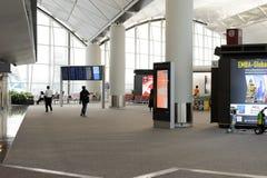 Hong Kong International Airport interior Royalty Free Stock Images