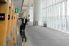 Hong Kong International Airport interior Stock Photography